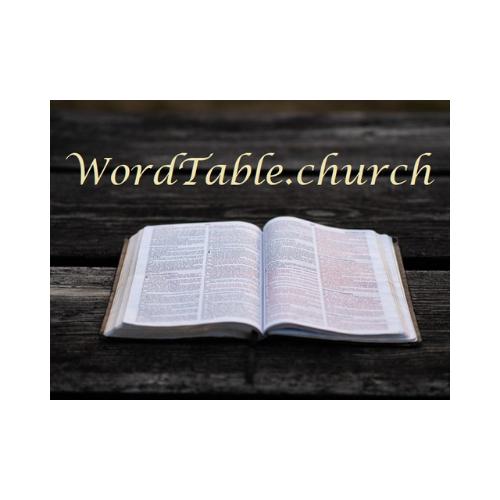 WordTable.church
